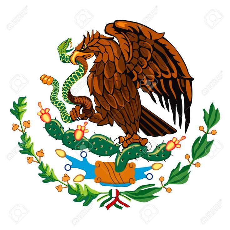 Image Result For Mexican Flag Eagle Printable Mexican Flags