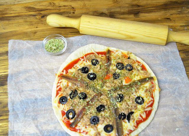 LAS DELICIAS DE MAYTE: PIZZA A LA SARTEN | PIZZA TONNO | PIZZA DE ATUN Y ...