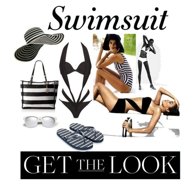 """""""Knock Off"""" by mountainalive ❤ liked on Polyvore featuring Nasty Gal, Jennifer Lopez, Agent Provocateur, Tommy Hilfiger, Yves Saint Laurent, Accessorize, GetTheLook and Swimsuits"""