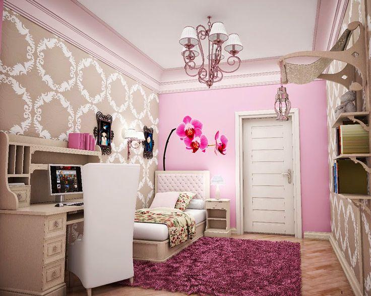 Σπίτι και κήπος διακόσμηση: 19 Ιδέες με Ρομαντικά υπνοδωμάτια σε μια κομψή Συλλογή