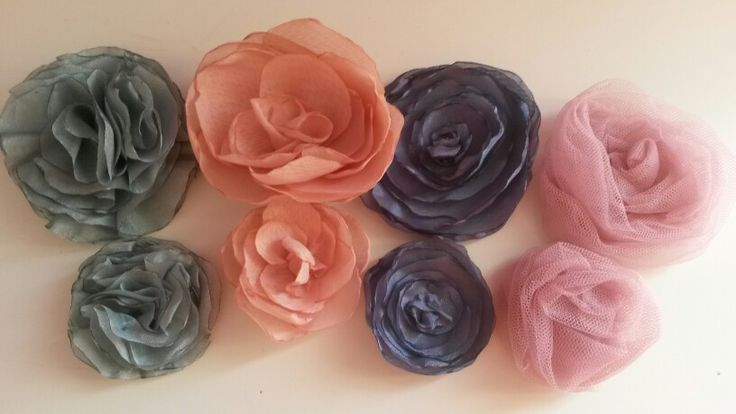 Handmade flowers....by me
