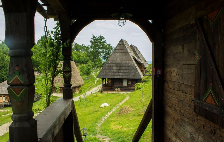 Raven's Nest, the Hidden Village in Transylvania.  Traditional houses in Transylvania, Romania. #guesthouses #transylvania #romania #wildlife #authenticlife #ravenhiddenvillage #traditionalhouse