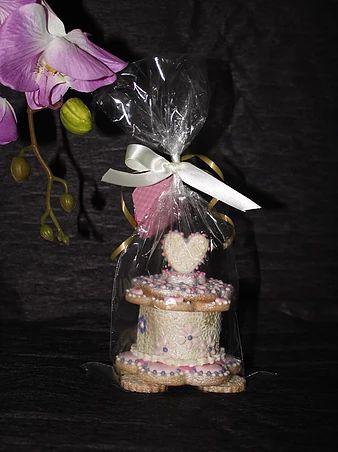 sukielanzafestas | Porta jóias de biscoitos amanteigados decorados com glace real. Excelente para presentear no dia das mães