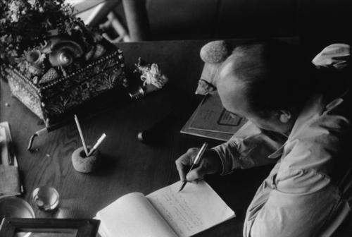 Pablo Neruda por Sergio Larraín, 1957