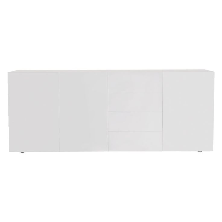 ASPEN White high gloss sideboard | Buy now at Habitat UK