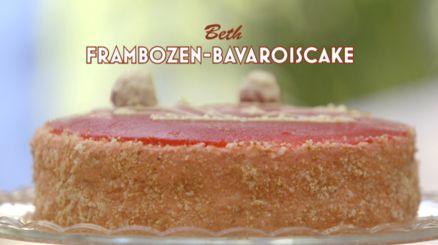 Heel Holland Bakt: Frambozen-bavaroiscake