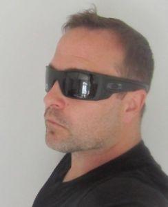 73f00a2727e OAKLEY matte black grey POLARIZED BATWOLF OO9101-04 sunglasses! NEW IN BOX!