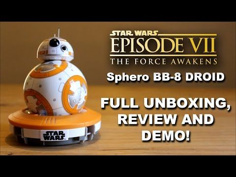 I'd love to hear your thoughts! STAR WARS SPHERO BB8 APP-ENABLED DROID UNBOXING  & REVIEW! (AWESOME)! https://youtube.com/watch?v=3RXKVkXEGdw