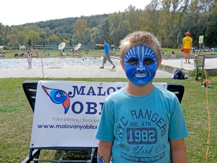 Chillibraní, 3. 9. 2016, Brno - Malovaný obličej