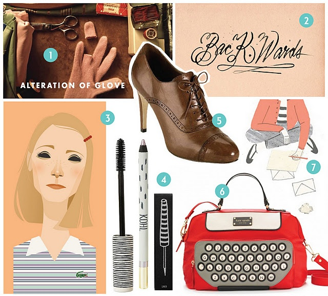 The Royal Tenenbaums - wish I could find that Kate spade bag!
