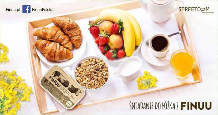 Śniadanie do łóżka? - Zacznij dzień z Finuu