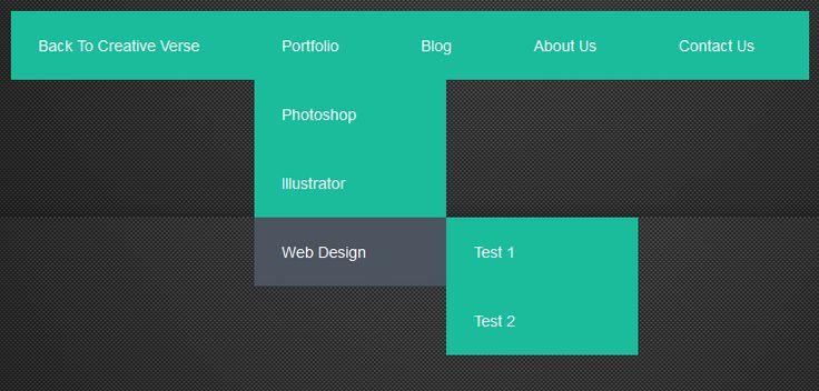 html5 drop down menu template - 213 best images on pinterest fonts