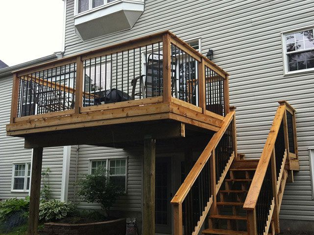 25 Best Ideas About Deck Stairs On Pinterest Patio