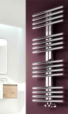 Reina Sorento Stainless Steel Bathroom Heated Towel Rail Radiator