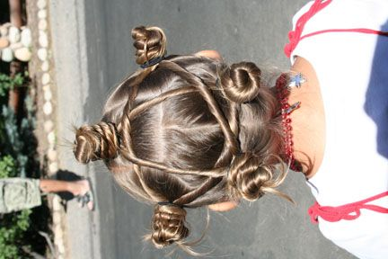 Star Twists Back and more Hairstyles from CuteGirlsHairstyles.com