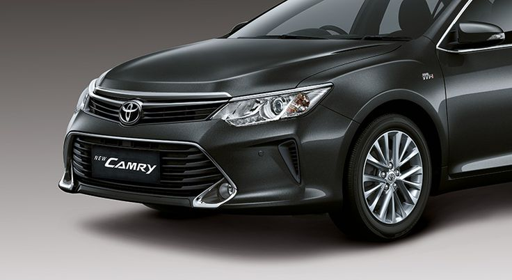 Toyota All New Camry - Front view - The Future Sedan - Auto2000