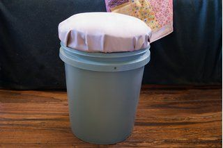 How to Make Cheer Buckets for Kids to Sit On (3 Steps) | eHow