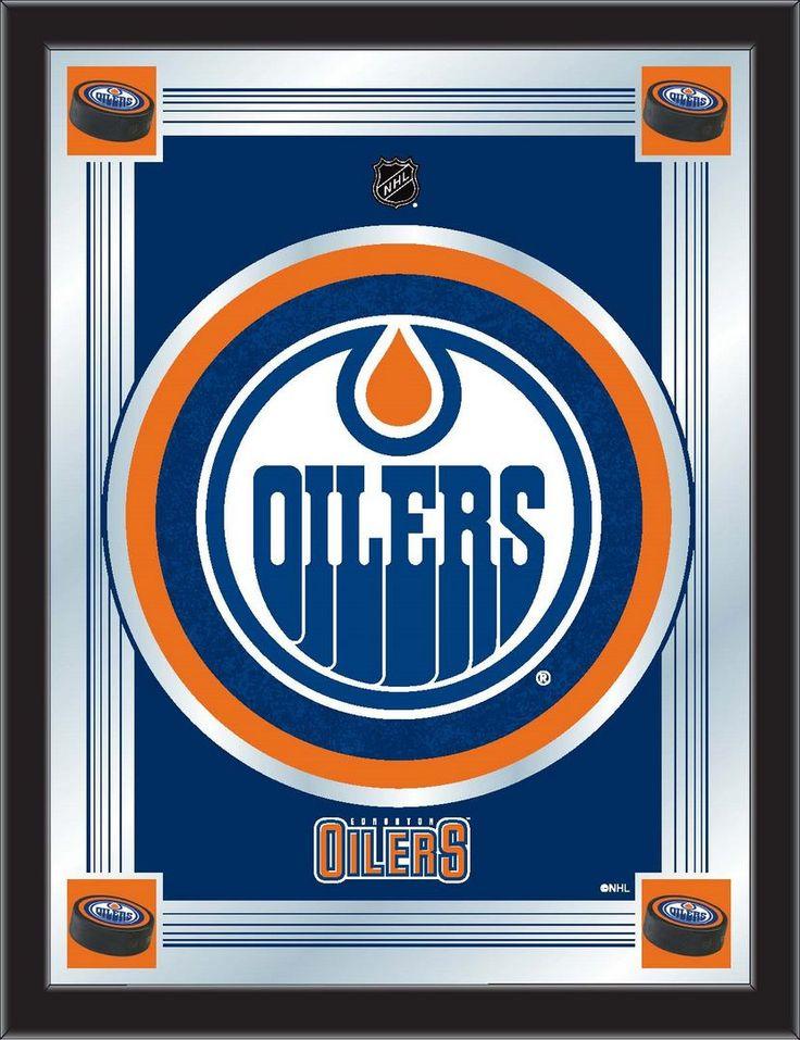 Logo Mirror - Edmonton Oilers