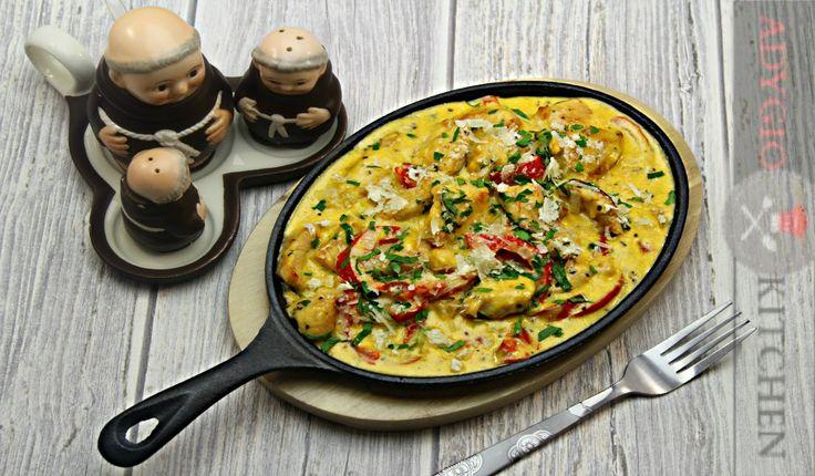 Pui in sos carbonara | Adygio Kitchen