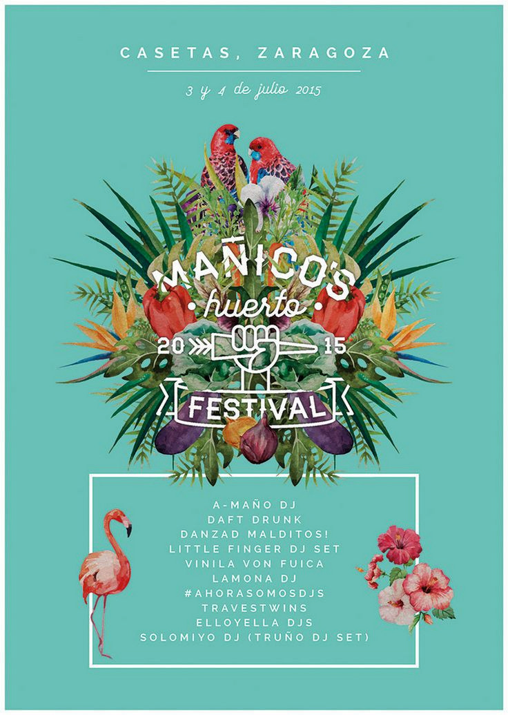 122 cool event poster designs - Poster Designs Ideas