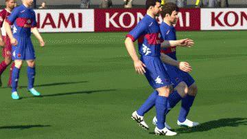 funny video game glitch fifa head