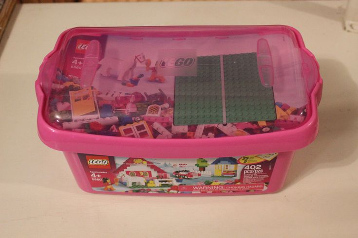 LEGO 5560 GIRL NEW IN BOX TUB SEALED BAGS SET 402 PIECES FREE SHIPPING