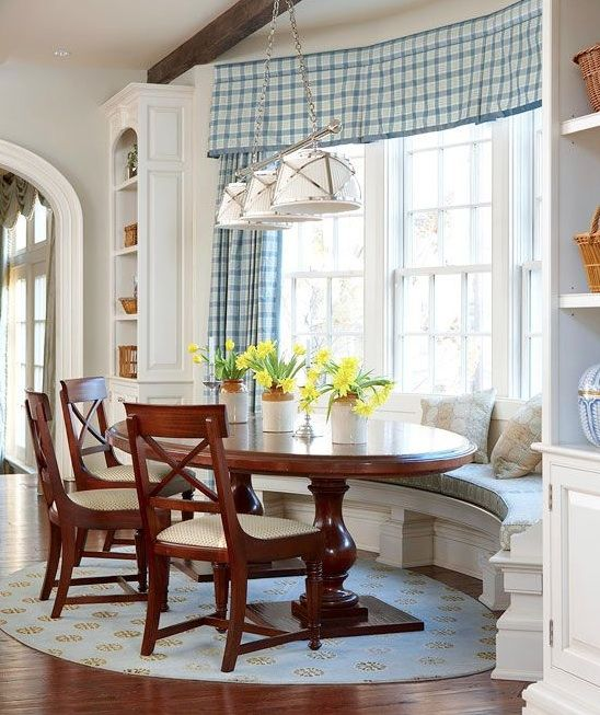 Kitchen Banquette Plans: The Dining Room