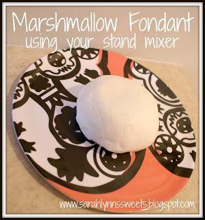 Sarah Lynn's Sweets: Marshmallow Fondants  Small batch of 8oz of marshmallows