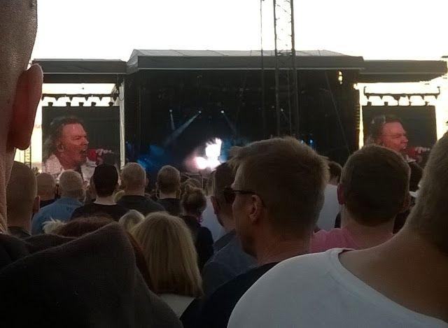 Martje: Axl Rose. Guns N' Roses in Hämeenlinna Finland
