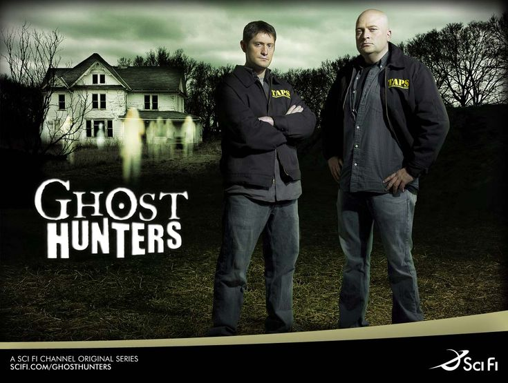 Ghost Hunters. I am so gonna miss Grant!
