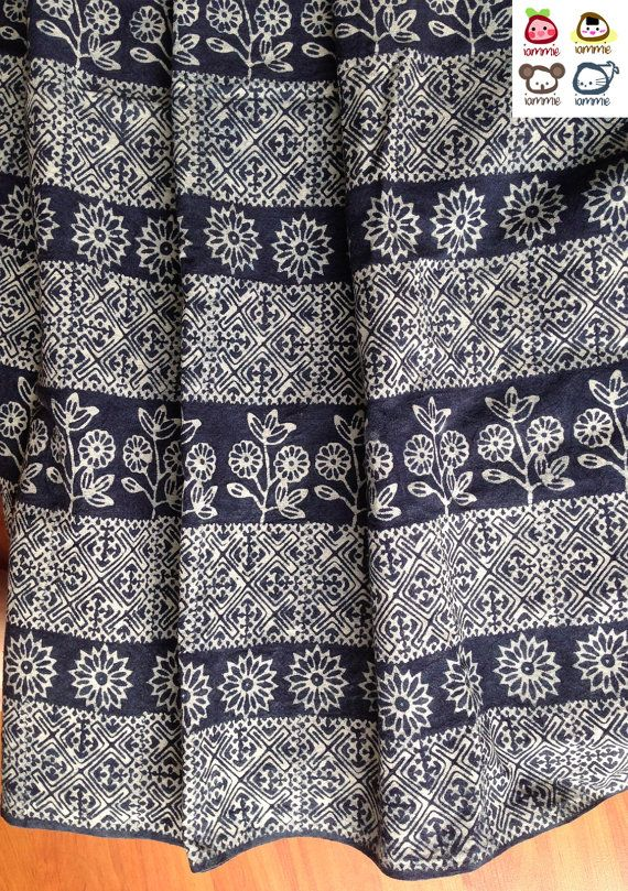Hmong Fabric Hmong textile Black White Lisu Fabric hmong by iammie