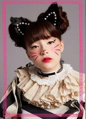 ハロウィンには猫に変身! 「黒猫」ヘアメイク、資生堂が提案