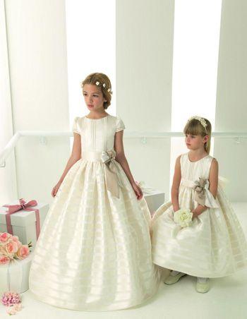 Vestidos para Primera Comuni�n de Rosa Clar�