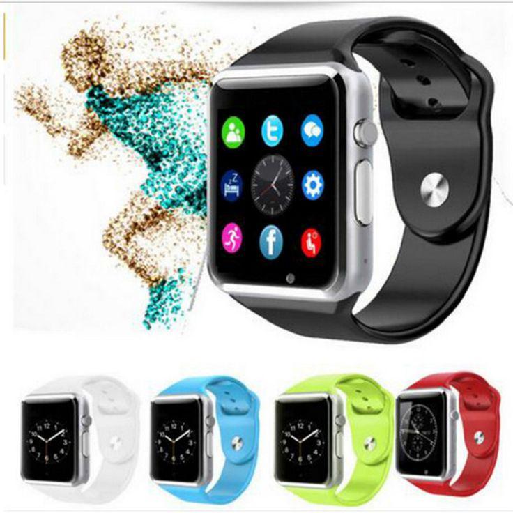 Bluetooth smartwatch a1touch sport schrittzähler mit sim/tf slot kamera uhr mode sync freies schiff für samsung android iso //Price: $US $18.56 & FREE Shipping //     #clknetwork