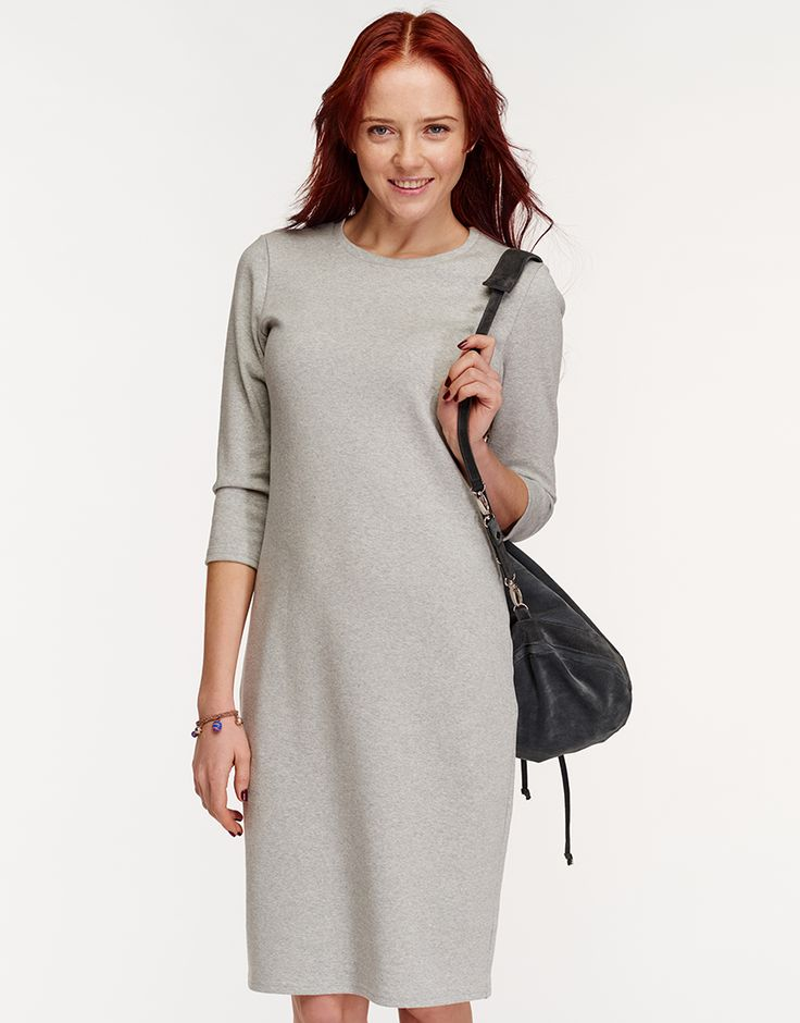 Платье из плотной ткани с рукавом 3/4 Oh, my