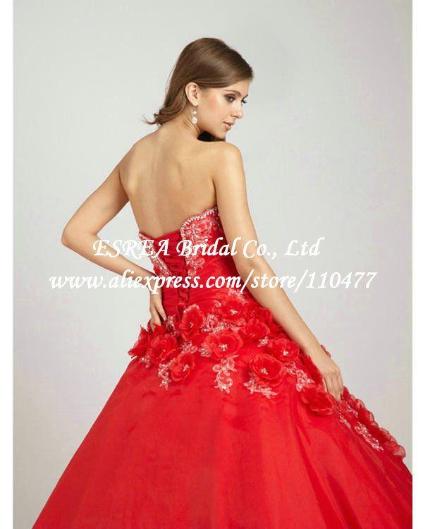 flores apliques feitos querida roxo vestidos vermelhos quinceanera vestidos de baile fora do ombro vestidos wx529 doce 16 em Vestidos de Debutante de Roupas & acessórios no AliExpress.com