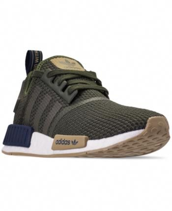 b674397fb953b adidas Men s Nmd R1 Casual Sneakers from Finish Line - Green 11  Sneakers