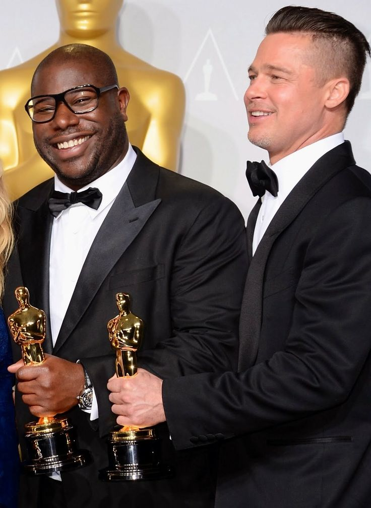 Steve McQueen's Montblanc Nicolas Rieussec Open Hometime timepiece - 86th Annual Academy Awards. Read more here: http://www.whats-he-wearing.com/2014/03/Steve-McQueen-Montblanc-Nicolas-Rieussec-Open-Hometime-timepiece-86th-Annual-Academy-Awards.html