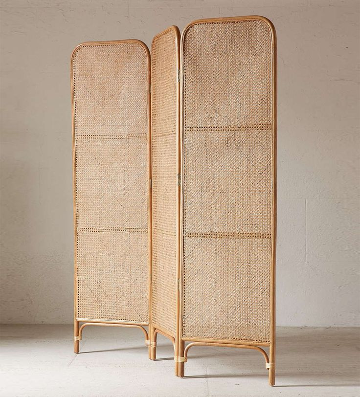 Urban Outfitters Rattan Screen Room Divider                                                                                                                                                                                 More