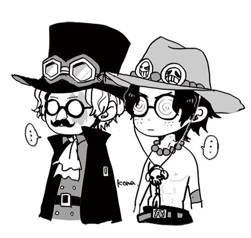 Ace and Sabo | One Piece