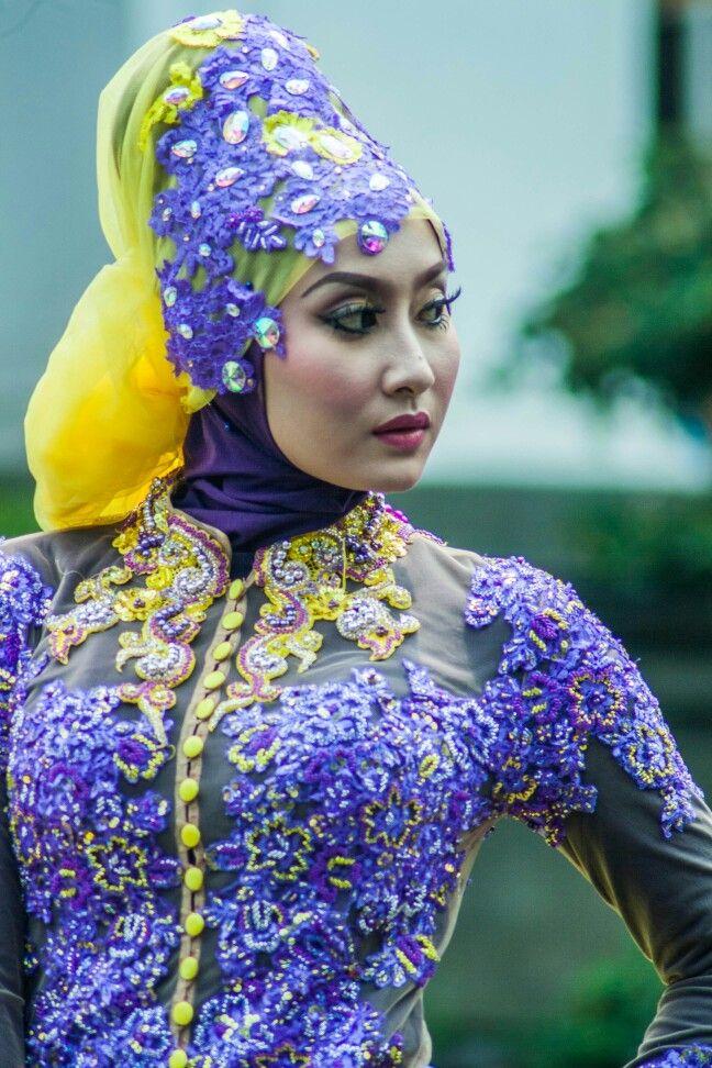 Indonesia Muslim model