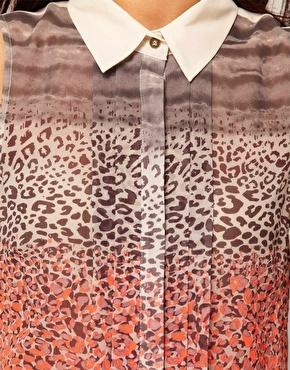 Asos Shirts, Animal Neon Prints, Awesome Prints, Animal Prints Shirts, Pattern, Mixed Prints, Asos Details, Animal Blouses, Cheetahs Prints