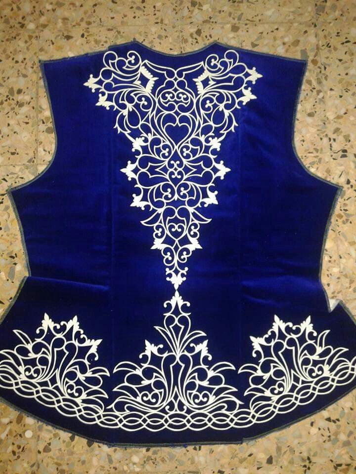 Algerian embroidered vest