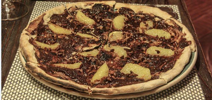 #Pizza de chocolate… Que tal esta opción?