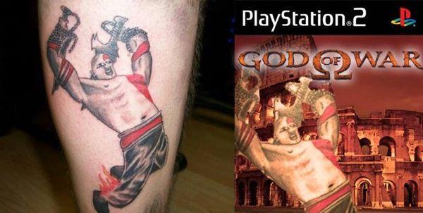 A God Of War Tattoo Gone Wrong