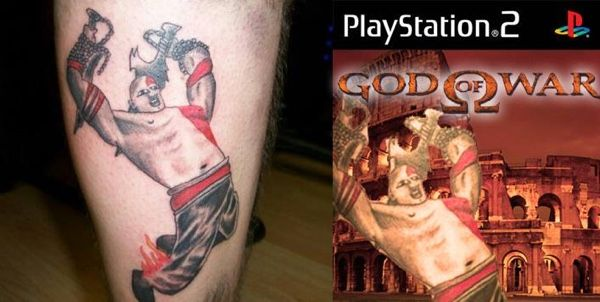 A God Of War Tattoo Gone Wrong