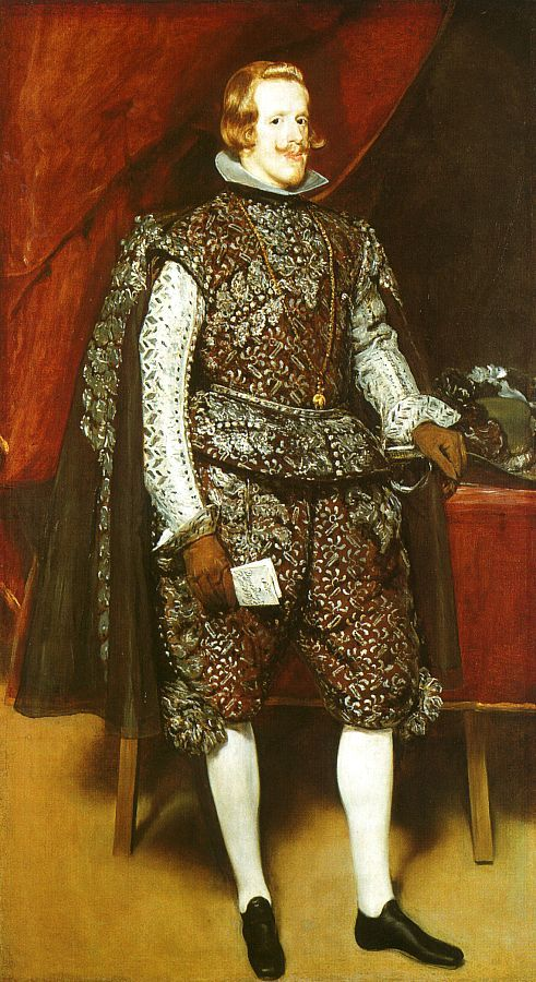 This is a portrait of Philip IV who employed Diego Velazquez when he went to  Madrid at the demand of Philip and Duke Olivares.  He would then be the only painter to paint the King from then on out.