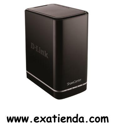 Ya disponible Caja nas Dlink dns 320 2x SATA consumer    (por sólo 102.99 € IVA incluído):   -Interfaces     * 1x 10/100/1000 Mbps auto MDIX Gigabit Ethernet     * 1 puerto USB 2.0     * 2 interfaces SATA II 3.5 HDD  -Gestión del disco:     * RAID: standard, JBOD, RAID 0, RAID 1     * RAID 1 auto/manual     * Monitorización del estado del disco S.M.A.R.T     * Escaneo del disco     * Reformateo HDD  -Red:     * DHCP cliente/IP estática     * Servidor NTP     * DNS din�