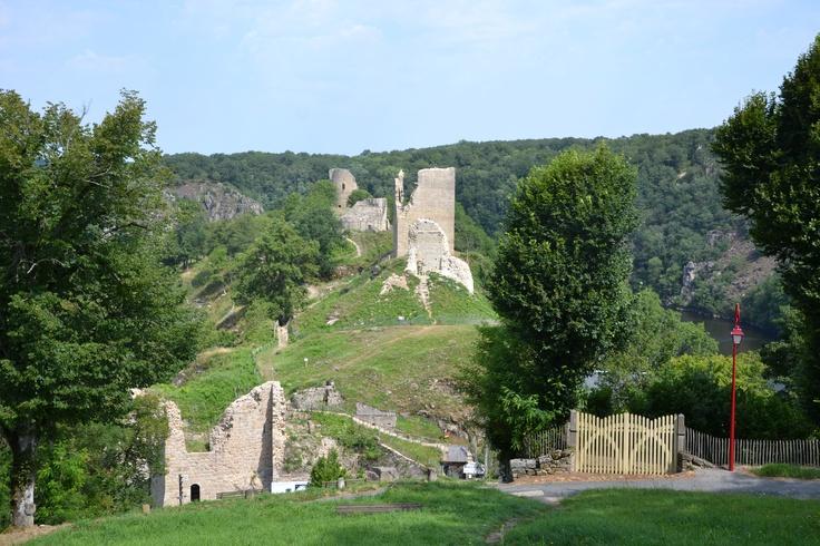 Las ruinas de la fortaleza de Crozant. (La Creuse, Limousin, France) Foto: María Teresa Rodríguez