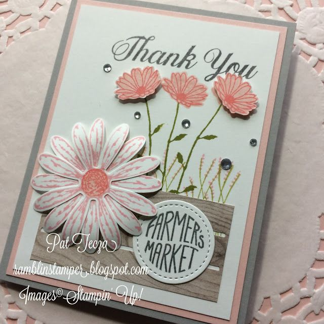 Daisy Delight, Stampin' Up! from the Farmers Market